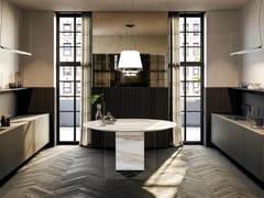 Cucina con isolaAIR | Modulo cucina freestanding - LAGO
