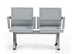 Seduta su barra a pavimento con braccioli AIRA | Seduta su barra - Aira