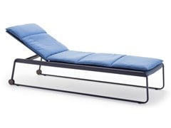 Lettino da giardino reclinabile in acciaioAIRE OUTDOOR TU1282 - ANDREU WORLD