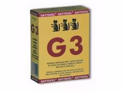 Collante in polvere da sciogliere in acquaAK_G3 giallo - GATTOCEL ITALIA