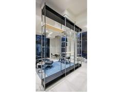 Sistema di scaffalatura modulare in alluminioAL13 - ETR-C