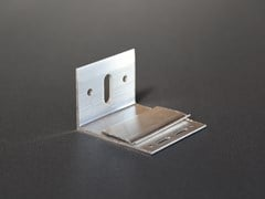 """Staffa ad """"L"""" in alluminioAL90 - REDCIRCLE"""