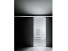 Glas Italia, ALADIN SLIDE MONO Porta scorrevole in vetro