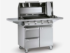 Barbecue a gas in acciaio inoxALAIN - PALAZZETTI LELIO