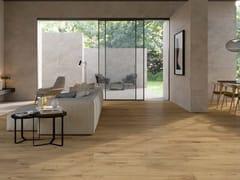 Pavimento/rivestimento antibatterico in gres porcellanato effetto legnoALBA | Pavimento/rivestimento effetto legno - MARAZZI