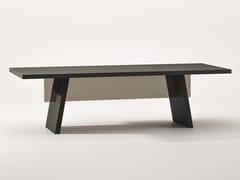 Tavolo rettangolare in rovere tinto neroALBERICO | Tavolo in rovere - BABATO 1934