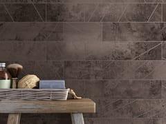 Pavimento/rivestimento in gres porcellanato a tutta massa effetto metalloALCHIMIA - CERAMICA DEL CONCA