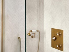 Mosaico in gres porcellanato ALCHIMIA | White Mosaico Spina - MARAZZI GROUP
