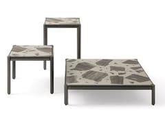 Tavolino da giardino con piano in palladianaALDÌA | Tavolino da giardino - GIORGETTI