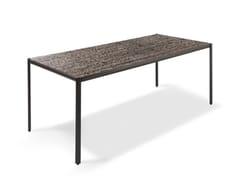 Tavolo rettangolare in vetroALDÌA | Tavolo in vetro - GIORGETTI