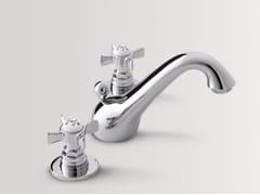 Rubinetto per lavabo a 3 fori da pianoALDEN | Rubinetto per lavabo - BATH&BATH