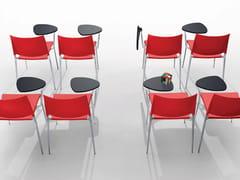 Sedia da conferenza con ribaltina ALEXA | Sedia da conferenza -