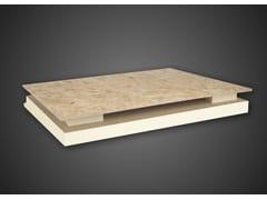 Sistema per tetto ventilato in schiuma polyisoALGOPAN PLUS - EDILTEC