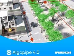 Redi, ALGOPIPE 4.0 Software per impianti idrotermosanitari e fognari