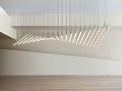 Lampada a sospensione a LED in vetro soffiatoALGORITHM - VIBIA