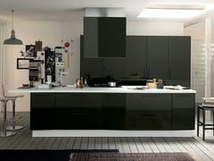 Cucina componibile con isola ALICANTE LABORATORY & SHARING -