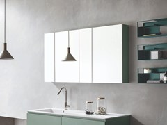 ARBLU, ALICE Specchio con contenitore per bagno