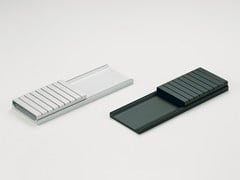 Porta biglietti da visita in alluminioALIGN LINE | Vaschetta portacancelleria - TAKEDA CO.