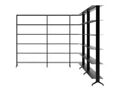 Libreria a giorno modulare in alluminioALINE - J05 - ALIAS