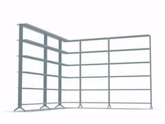 Libreria a giorno modulare in alluminio ALINE - J05 - Aline