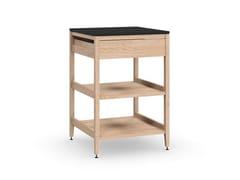 Modulo cucina freestanding in legno masselloALL WOOD RADIX | Modulo cucina freestanding in legno - COQUO