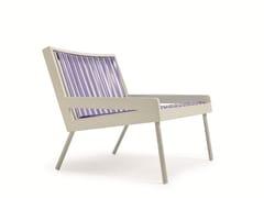 Poltrona da giardino in PVC con braccioli ALLAPERTO GRAN HOTEL STRINGS | Poltrona da giardino - Allaperto