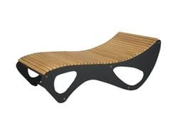 Euroform W, ALLBED Seduta da esterni in legno