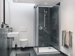 DUSCHOLUX, ALLEGRA Box doccia su misura in vetro con porta scorrevole