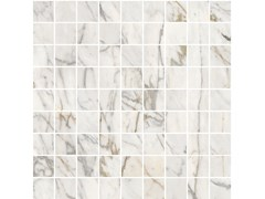 Mosaico in gres porcellanato ALLMARBLE | Mosaico Golden White Lux - MARAZZI GROUP