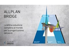Allplan Italia, ALLPLAN BRIDGE 2021 Soluzione BIM professionale per la progettazione dei ponti