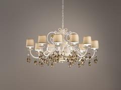 Lampadario a luce diretta in metallo con cristalli Swarovski® ALLURE 10 - Allure