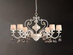 Lampadario a luce diretta in metallo con cristalli Swarovski® ALLURE 6 BIL - Allure
