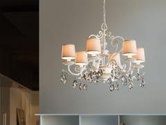 Lampadario a luce diretta in metallo con cristalli Swarovski® ALLURE 6 - Allure