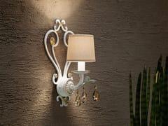 Lampada da parete a luce diretta in metallo con cristalli Swarovski® ALLURE A1 - Allure