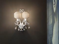 Lampada da parete a luce diretta in metallo con cristalli Swarovski® ALLURE A2 - Allure