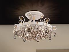 Lampada da soffitto a luce diretta in metallo con cristalli Swarovski® ALLURE PL8 - Allure