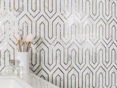 AKDO, ALLURE RUG Mosaico in marmo
