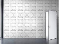 Mineheart, ALMOST WHITE VICTORIAN PANELLING Carta da parati a motivi in vinile