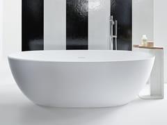 Kos by Zucchetti, ALOE Vasca da bagno centro stanza in Solid Surface