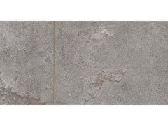 Lastra decorata ALPES RAW DECORO SIGN Lead Mix 2 - ABK GROUP INDUSTRIE CERAMICHE