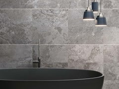 Lastra in gres porcellanato ALPES RAW Lead - ABK GROUP INDUSTRIE CERAMICHE