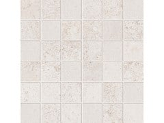 Mosaico quadrato ALPES RAW MOSAICO QUADRATO Ivory - ABK GROUP INDUSTRIE CERAMICHE