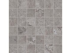 Mosaico quadrato ALPES RAW MOSAICO QUADRATO Lead - ABK GROUP INDUSTRIE CERAMICHE