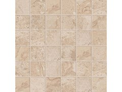 Mosaico quadrato ALPES RAW MOSAICO QUADRATO Sand - ABK GROUP INDUSTRIE CERAMICHE