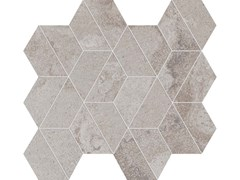 Mosaico rettificato ALPES WIDE MOSAICO ENIGMA Grey - ABK GROUP INDUSTRIE CERAMICHE