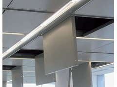 Pannelli per controsoffitto in metallo ALPHA SD2 - ARCHITECTURAL PROMETAL