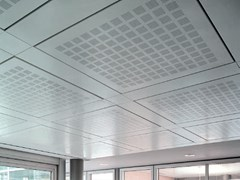 Pannelli per controsoffitto in metallo ALPHA SD3 - ARCHITECTURAL PROMETAL