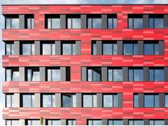 Lastra trafilata in cotto per facciataALPHATON® - MOEDING KERAMIKFASSADEN