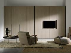 Armadio con pannello porta TV orientabile integratoALTERNA SM009 | Armadio - ZALF