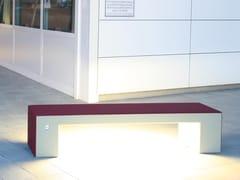 Panchina in calcestruzzo con illuminazione integrataALTHEA LIGHTING - CALZOLARI